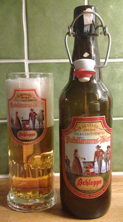 Schleppe Jubiläums-Bier
