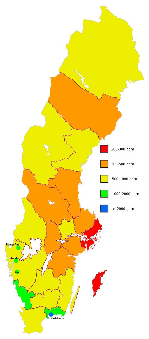 Glenn i Sverige