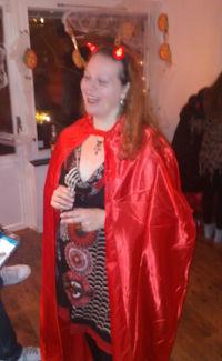 Sherri på Halloween