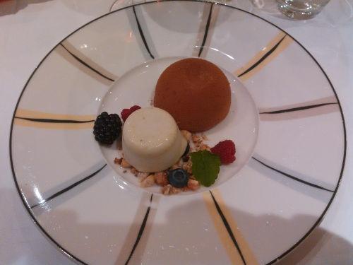 Dessert på Gondolen